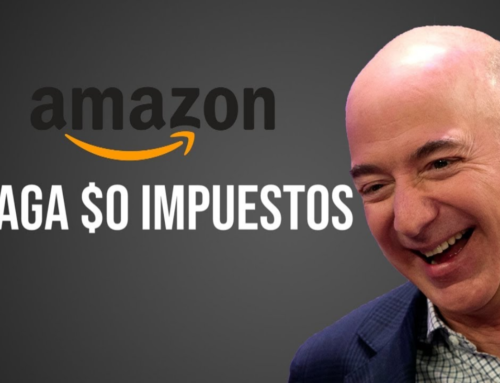 Amazon Europa, no paga impuestos